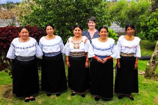 Crafting a Creative Business  in Ecuador's Highlands