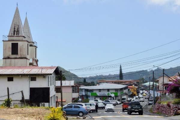 Iglesia San Juan Bautista in Boquete, Panama