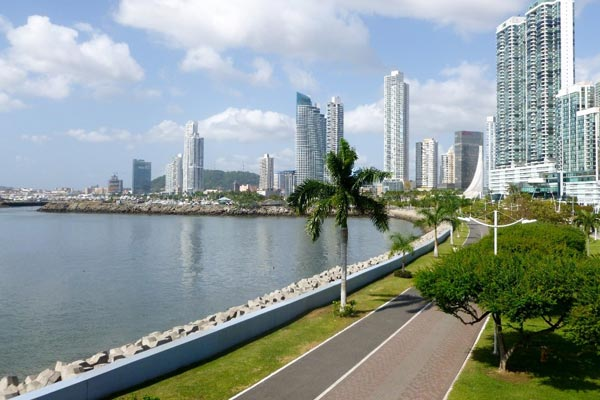 Kiersten, quickly integrated into Panama City's diverse expat community