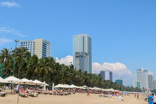 Nha Trang's beach and amenities draw visitors year-round