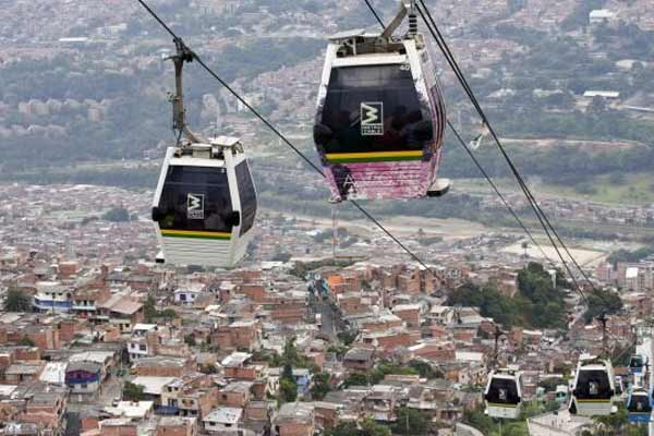 Ride the Metrocable to Parque Arvi