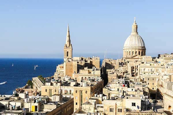 The Capital City of Valletta