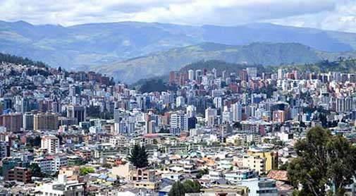What A Hard Day Looks Like in Quito's Spring-like Climate