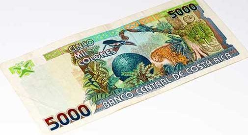 costa rica currency-colones