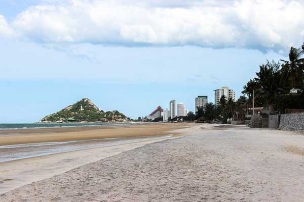 hua hin beaches in thailand