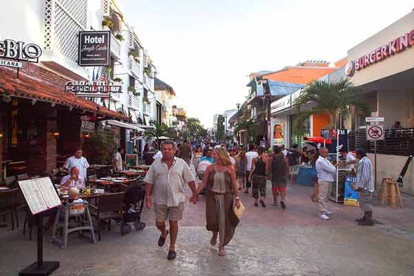 Party Time in Playa del Carmen, Mexico