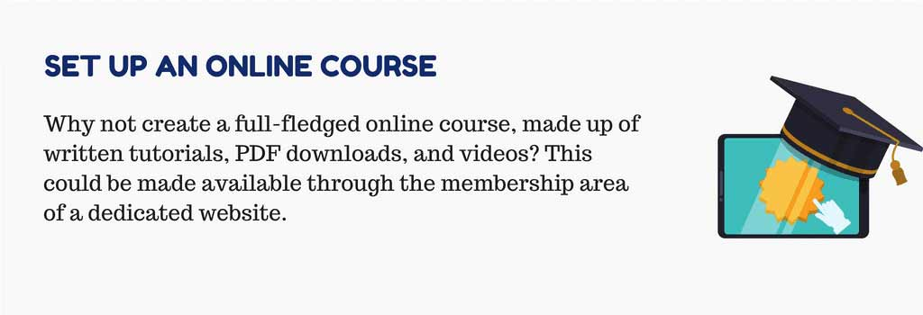 Set up an Online Course