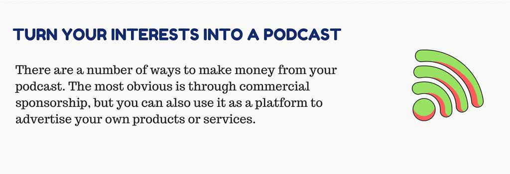 Turn Your Interests into a Podcast That Pays