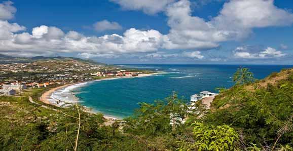 Saint Kitts and Nevis, Caribbean