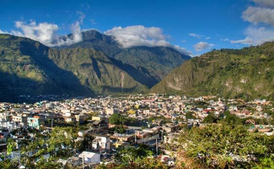 Baños de Agua Santa, Ecuador