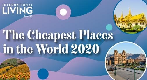 The Cheapest Places in the World to Live in 2020