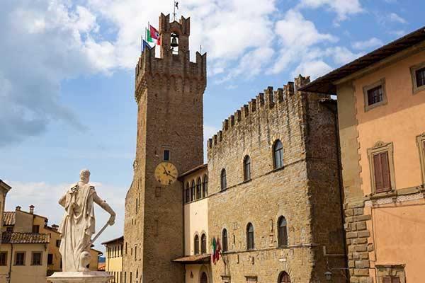 Retire in Arezzo