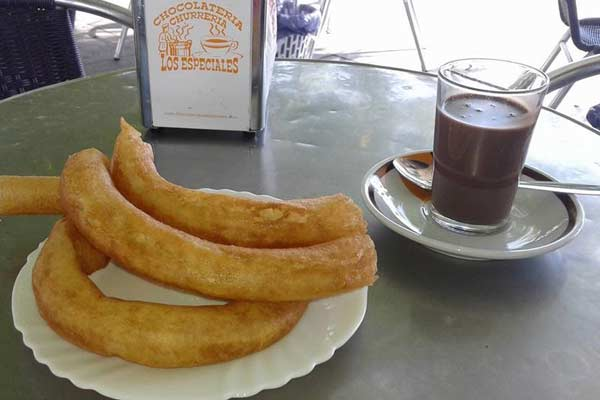 Churros-in-Seville