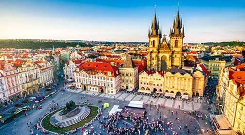Exploring Prague, Czech Republic