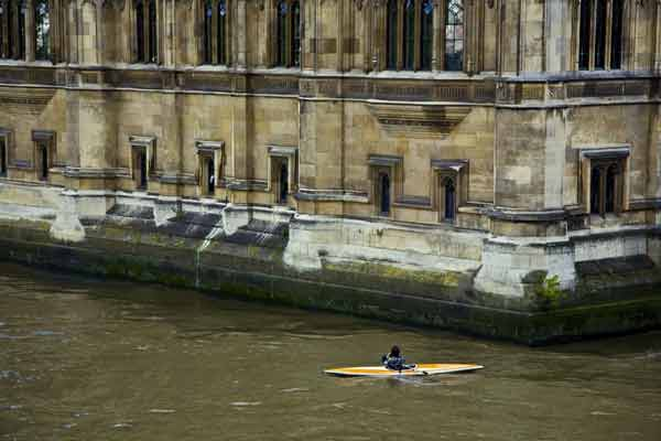 Kayak on the River Thames