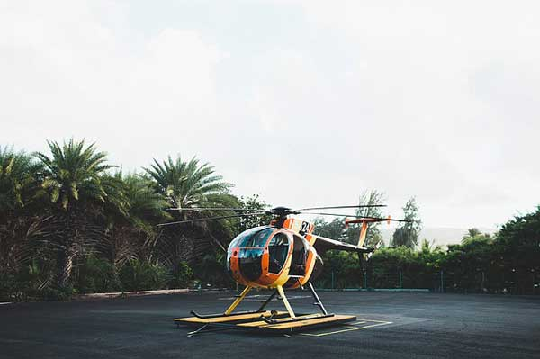 bali helicopter ride