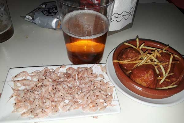eating on a budget in jerez