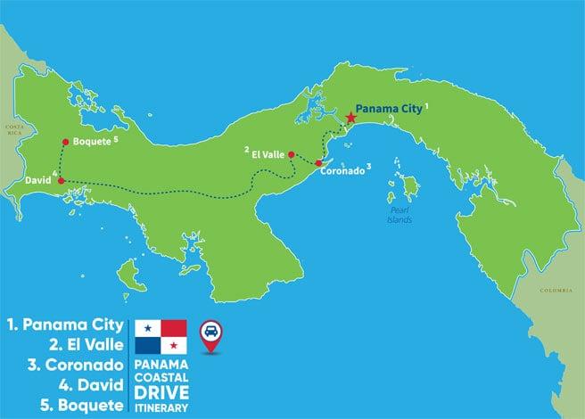 IL-Panama-Itinerary-Map