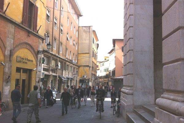 ancient streets of pisa
