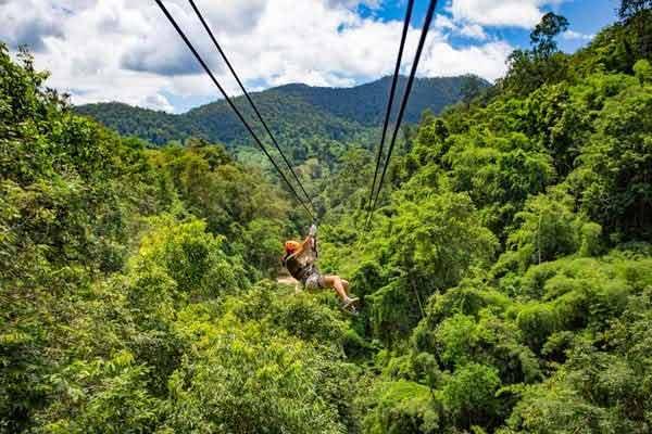 Ziplining in Boquete