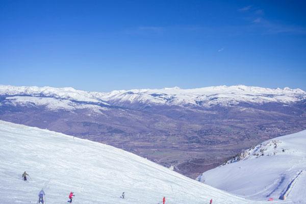 skiing in girona