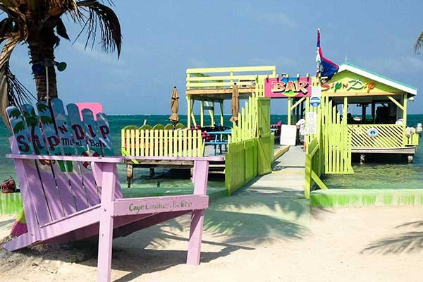 Caye Caulker Beach Belize