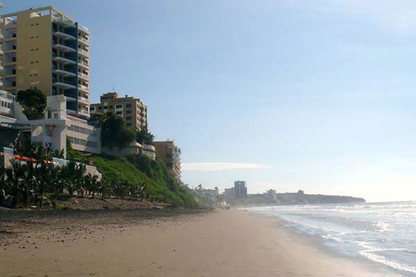 Manta Beach Ecuador