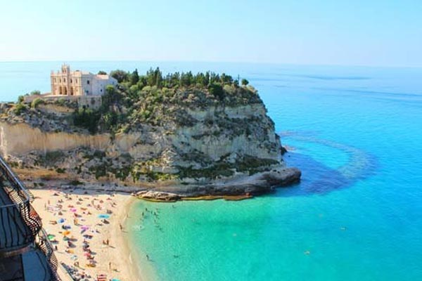 Rest on the White-Sand Beach at Tropea