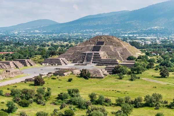 Ruins of Teotihuacan