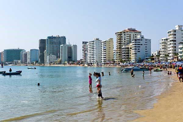 Salinas Beach Ecuador