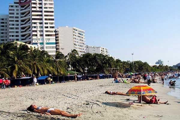 Santa Marta Beach Colombia