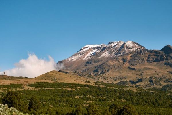 Volcano at Izta-Popo National Park