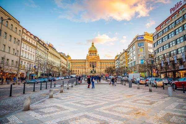 Prague's Famous Old Town and Wenceslas Square