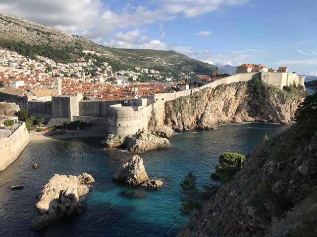 Dubrovnik is a city of endless spectacular views.