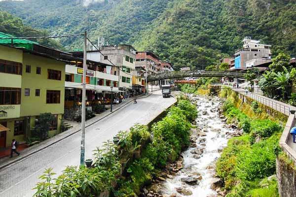 Peru Itinerary Agua Caliente