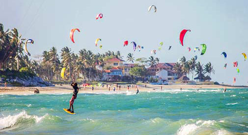 The Best Places for Scuba Diving and Kiteboarding