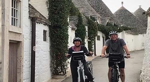 On Two-Wheels through Puglia, Italy