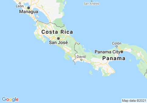 Placeholder image for map of Costa Rica