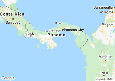 Placeholder image for map of Panama
