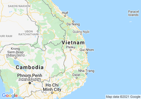 Placeholder image for map of Vietnam