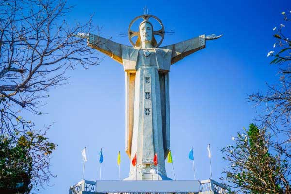 Visit One of the World's Largest Jesus Statues
