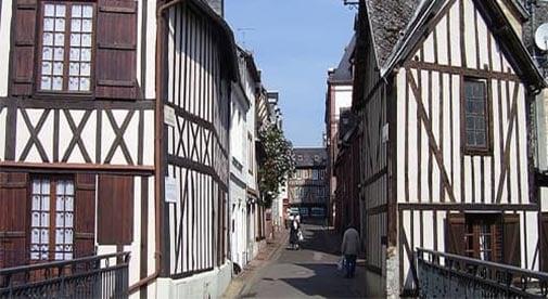 Enjoying the Simple Life in Bernay, France