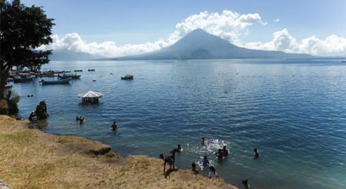 Guatemala Beaches: In Search of Better Beaches on Guatemala's Trio of Lakes