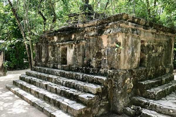 Maya Ruins in the Mexican Caribbean