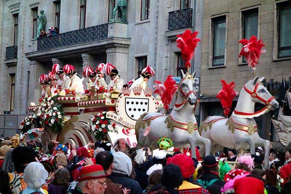 Astound at Carnival Time in Cologne