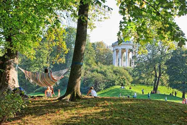 Spend a Day Relaxing in the English Garden in Munich