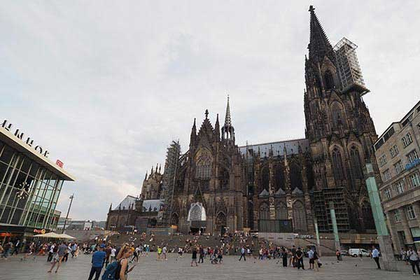 The Cologne Cathedral of St. Peter