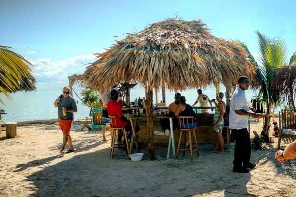 the secret beach of ambergris caye