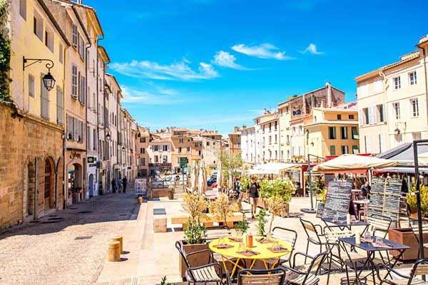 Aix-en-Provence in France