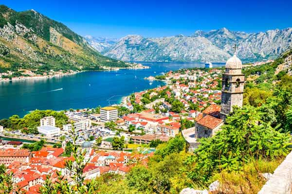 Kotor is rich in natural beauty